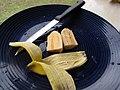 Starr-091112-9631-Musa x paradisiaca-Iholena fruit from Banana Patch LZ-Olinda-Maui (24896454381).jpg
