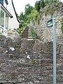 Start of the footpath in Lower Lydbrook - geograph.org.uk - 523308.jpg