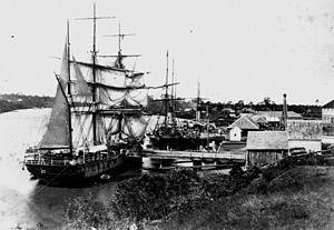 Mary River (Queensland) - The barque Maria Ysasi, 1874