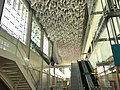 Station Hall ceiling, Taipei Main Station, Taoyuan Metro 20181219.jpg