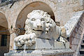 Statue of lion in Norcia.jpg