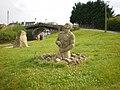 Statue on Summerwood Lane in Halsall, Lancashire.jpg