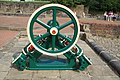 Steam engine, Burrs Country Park - geograph.org.uk - 1386119.jpg