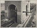 Steam train on south west track of Harbour Bridge, 1932 (8283758724).jpg