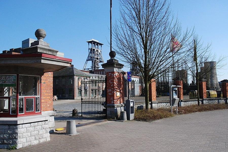 De steenkoolmijn te Beringen, België