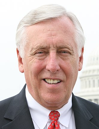 Party leaders of the United States House of Representatives - Majority Leader Steny Hoyer (D)