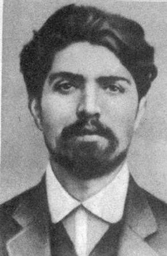 Stepan Shaumian - Image: Stepan Shaumyan 1