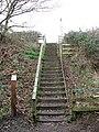 Steps to Hungate Street - geograph.org.uk - 1189122.jpg