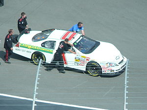 Steve Grissom - In 2009 Grissom drove this car for Johnny Davis's JD Motorsports. He started 43rd after crashing in qualifying and finished 43rd in the race after a vibration in car on lap 2.