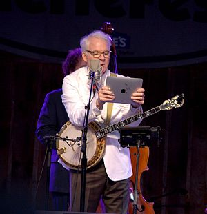 International Bluegrass Music Awards - Actor Steve Martin (pictured above in 2010) presented with a distinguished achievement award at the 2015 award show.