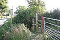 Stile and footpath to Dodleston - geograph.org.uk - 460756.jpg