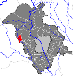 Location within Graz-Umgebung district