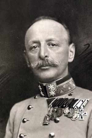 Stjepan Sarkotić - Stjepan Sarkotić in a uniform of a lieutenant field marshal in 1915
