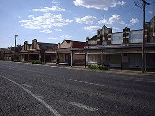 Stockinbingal Town in New South Wales, Australia