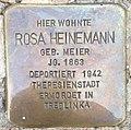 Stolperstein Anröchte Marktstraße 23 Rosa Heinemann.jpg