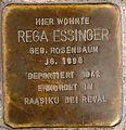 Stolperstein Arnstadt Rankestraße 1-Rega Essinger.JPG