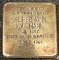 Stolperstein Köln Ebertplatz 1 Dr Hermann Kaufmann.jpg