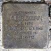 Stolperstein Koenigsallee 34 (Grune) Isidor Dobrin.jpg