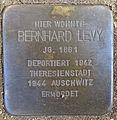 Stolperstein Sierichstraße 84 (Bernhard Levy) in Winterhude.JPG