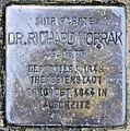 Stolperstein Waldmannstr 1 (Lankw) Richard Kobrak.jpg