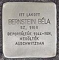 Stolperstein für Bela Bernstein (Nyíregyháza).jpg