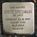 Stolperstein für Grete Spielmann.JPG