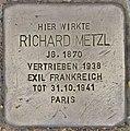 Stolperstein für Richard Metzl (Salzburg).jpg