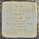 Stolperstein für Robert Steiner (Prievidza).jpg