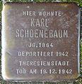 Stolpersteine Köln, Karl Schoenebaum (Nußbaumerstraße 11).jpg