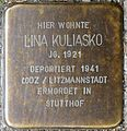 Stolpersteine Köln, Lina Kuliasko (Großer Griechenmarkt 126).jpg