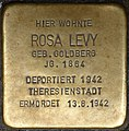 Stolpersteine Krefeld, Rosa Levy (Neusser Straße 38).jpg