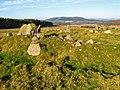 Stone circle near Knock Wood - geograph.org.uk - 595469.jpg