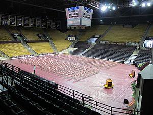 Strahan Coliseum - Strahan Coliseum's Interior, 2016