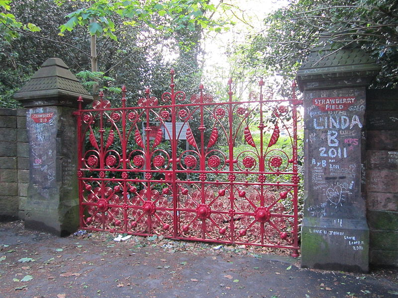 Liverpool, England - Strawberry Fields