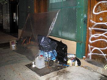 Street Sleeper 2 by David Shankbone