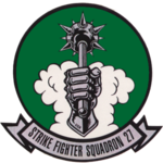 Strike Fighter Squadron 27 (US Navy) insignia c1991.png