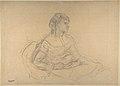 "Study for ""Mme Théodore Gobillard"" (née Yves Morisot) MET DP810344.jpg"