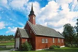 Stugudal Chapel - Image: Stugudal kapell DF.7096