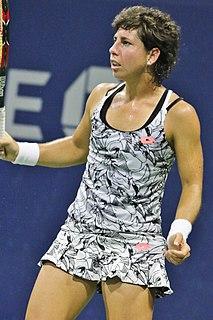 Carla Suárez Navarro Spanish tennis player