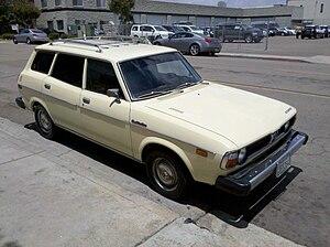 Subaru Leone - 1978 Subaru DL wagon