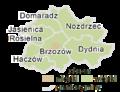 Subcarpathian Voivodeship - brzozowski county gminas.png