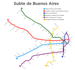 Subway Map Of Buesnos Aries Olleros Station.Buenos Aires Underground Wikipedia