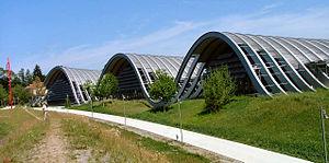 Ejemplo de producto con base en una Maqueta como medio de representación de un Proyecto Arquitectónico complejo.