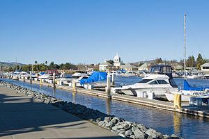 Solano County, California - Image: Suisun City Marina and City Hall