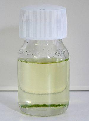Sulfuryl chloride - Image: Sulphuryl chloride 25ml