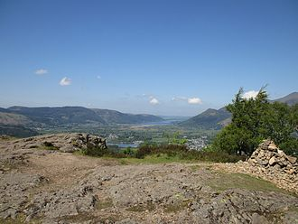 Walla Crag - The summit