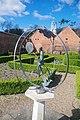 Sun Dial sculpture by Nathan David, Harlow Museum, Essex.jpg
