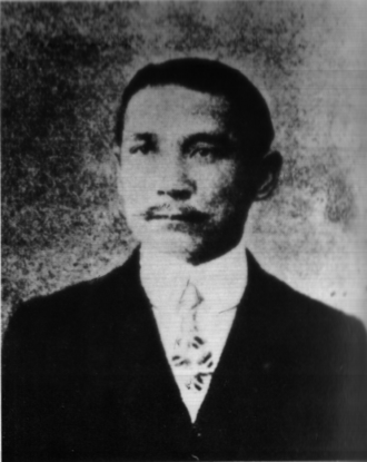 Anti-Qing sentiment - Sun Yat-sen, one of the leaders of the Xinhai Revolution which overthrew the Qing dynasty in 1912. Photo taken in 1907