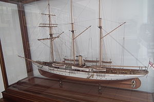 Sunbeam RYS (1874) - Model of Sunbeam RYS in Hastings Museum