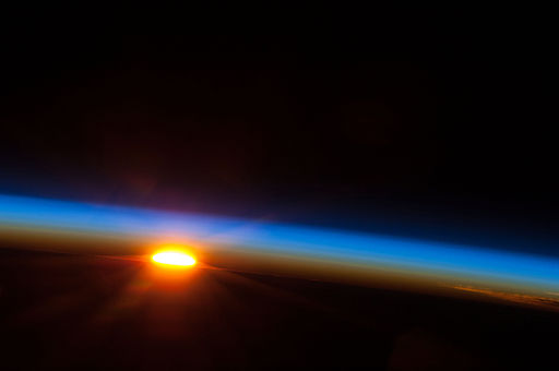 Sunrise Over the South Pacific Ocean